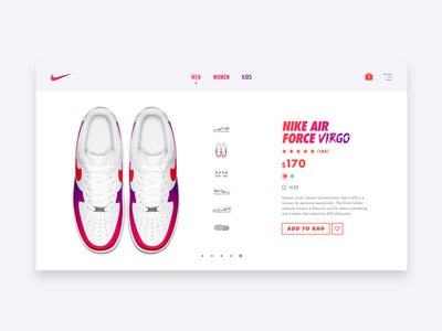 Nike Air Force Virgo – Purchase
