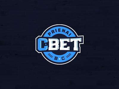 BC Prienai basketball logo sports league athlete wordmark logotype prienai nba pro sports sports branding sports logo roundel sports bball club league lithuanian lithuania basketball