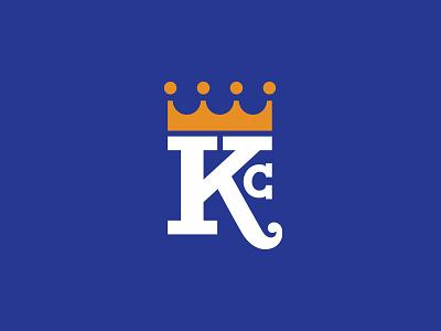 Kansas City Royals typography sports king missouri royals crown monogram mlb royalty major league logotype logo league font face custom font kansas city kc baseball