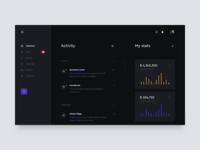 dashboard for brokerage platform