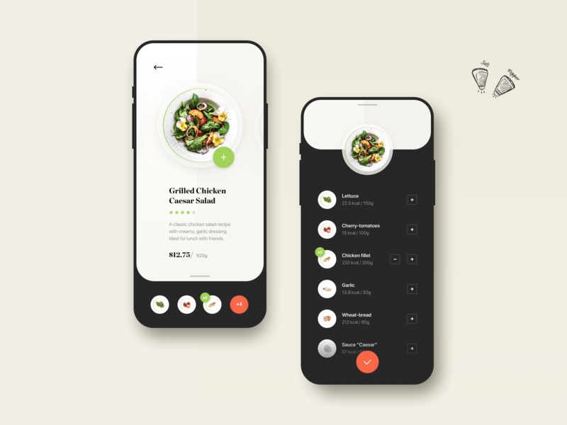 Food ordering brandnew ios app food app ui shopping order ecommerce ios uxui ux payment purchase discovery food app receipt shopping app simple