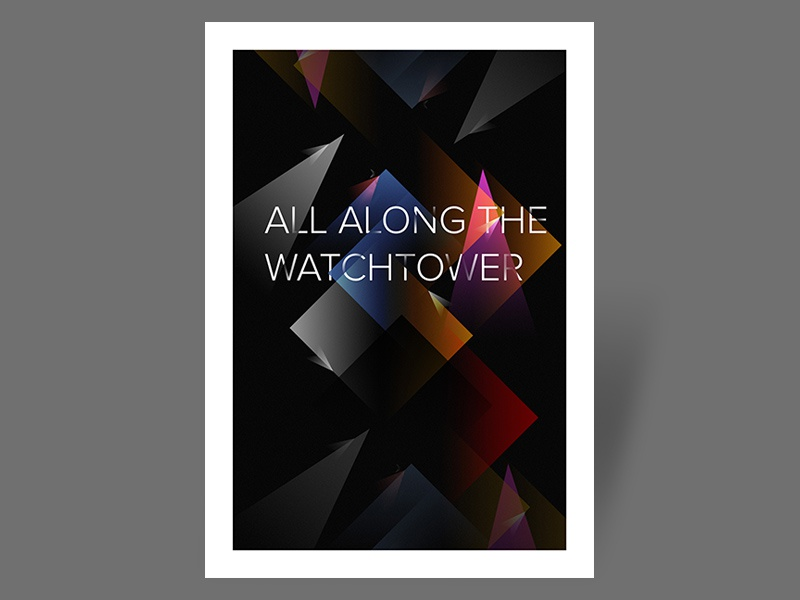 Poster - All Along The Watchtower poster