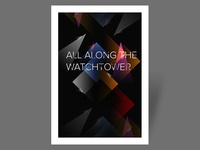 Poster - All Along The Watchtower