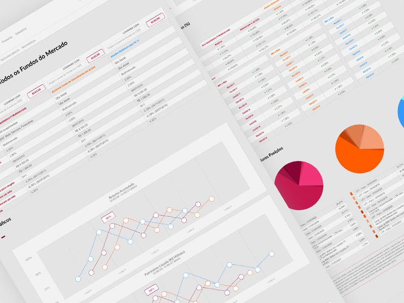 Wireframe: Fund Comparison Tool search and compare search comparison tool comparison compare charts wireframe