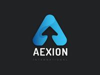 Aexion International Logo Design
