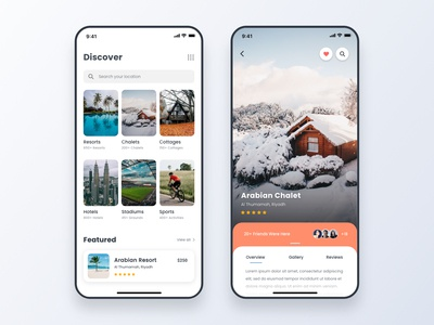 Real Estate Booking App