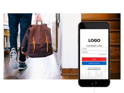 Customer Login App