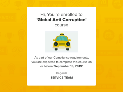 "Mail Template ""Global Anti Corruption"""