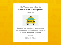 "Mail Template ""Global Anti Corruption"""