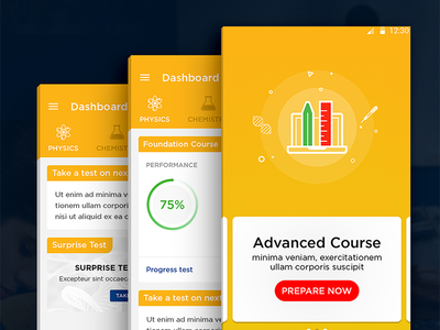 e-Learning course page