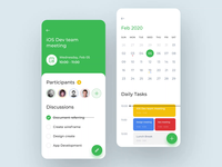 Google calendar animation