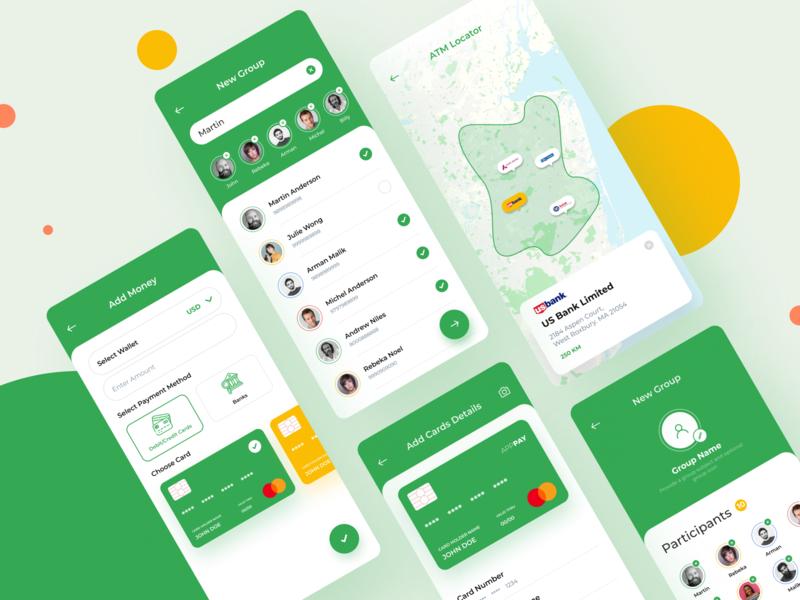 Money App payment payment app transaction atm design app design app money app