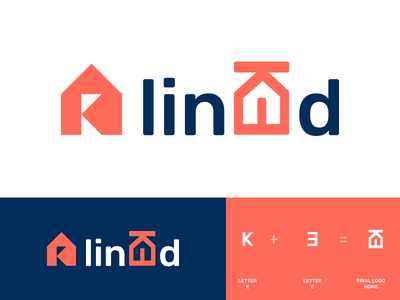 Linked logo creative linked linked logo branding design logo design branding logo