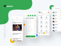 Sports App sports app sports score news events cards design app design app