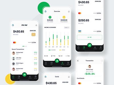 Fix Pay Light App utility app send money payment app payment money app design dark app app design app