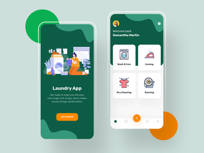 Laundry App washing laundry app laundry ironing design clothing clothes cleaning app cleaning app design app