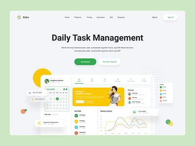 Task Management Software webdesign web hrms task task manager website app task management app task management