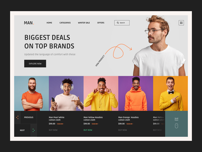 Man Shopping Website Design shopping app website shopping website ui online shopping brand hoodies tshirt shirt man shopping man design web shopping