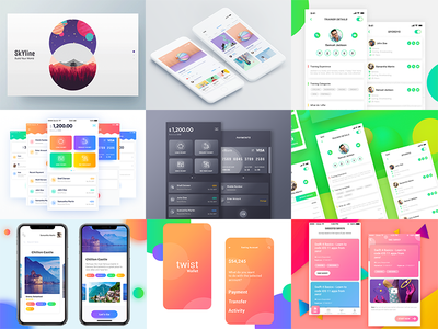 2017 Summary (Best Shots of 2017) shots best mindinventory android ios work 2017 optimal color app