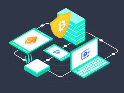 Blockchain System blockchain mindinventory nem ethereum network bitcoin imac ipad mockups devices crypto