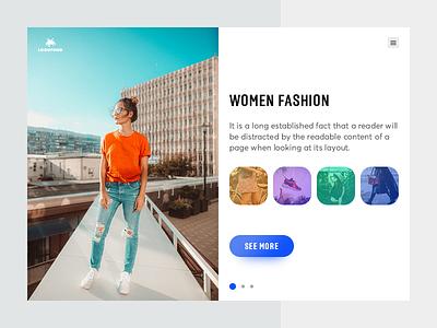 Fashion Website header brands shops women fashion men fashion shopping website fashion