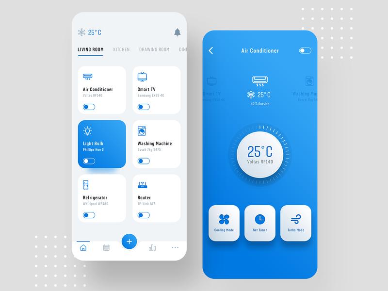Smart Home app design controller app automation smart app home automation smarthome