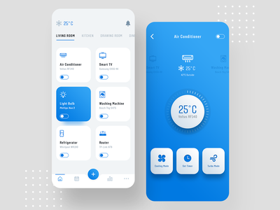Smart Home app design controller app automation smart app home automation smarthome