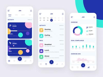 Fitness app fitness tracker activity tracker statistics graphic activity design app design app fitness app fitness