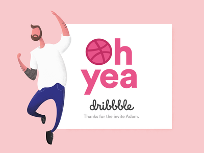 What's up Dribbble?!