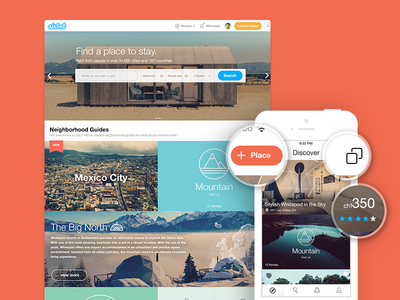 Airbnb new features & UI