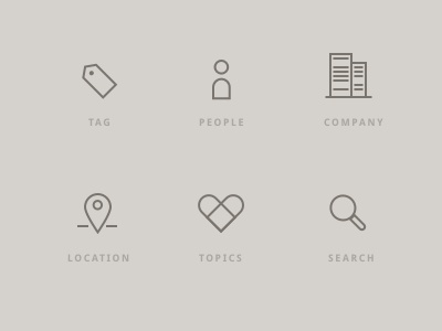 Icons Filters