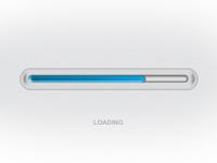 Blue Loading bar