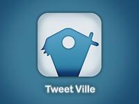 Tweetville Icon app
