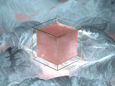 C4D Cube practice