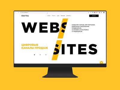 website portfolio for IT company