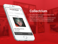 Collectrium mobile