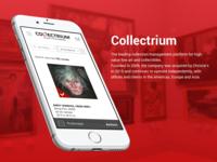 Collectrium mobile