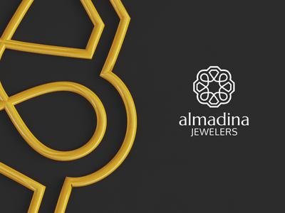 Logomark Design - almadina Jewelers jewelry jewelers design logomark mark logo