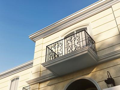 Sunhill Avenue Archviz exterior 3d visualisation architechture