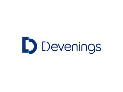 Devenings Logomark and Type branding logomark logotype design logo