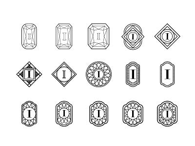 Ilya - The Process badge ilya jewelry logo brand mark diamonds classical handmade art deco luxury