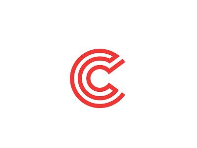 Concept Logo continuous c maze mark commercial type inhouse internal brand logo