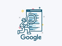 Online Visibility Illustrations: Google