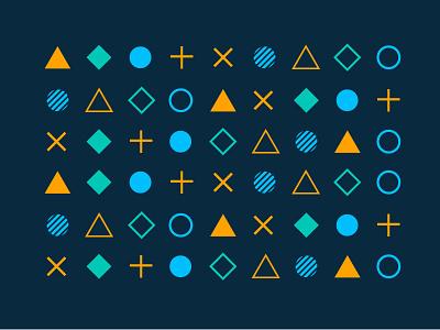 Brand Exploration_Keen identity branding design minimal vector mark brand logo shape texture pattern flat simple geometric geo