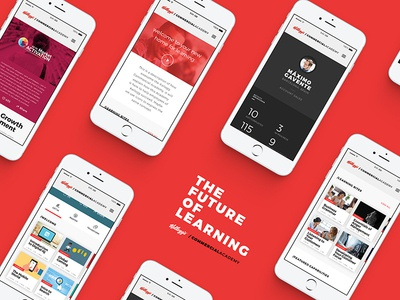 Learning Hub courses user experience userinterface classes profile cereal kelloggs development learning movie app mobile uiux ui