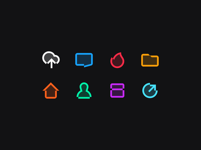 Free icons set business identity link path glitch minimalism mark geometry bubble arrow face human home cloud chat folder fire free icon logo