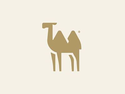 Camel mark desert art geometric flat abstract branding minimal vector logotype line 2d animal minimalism geometry illustration design icon mark logo camel