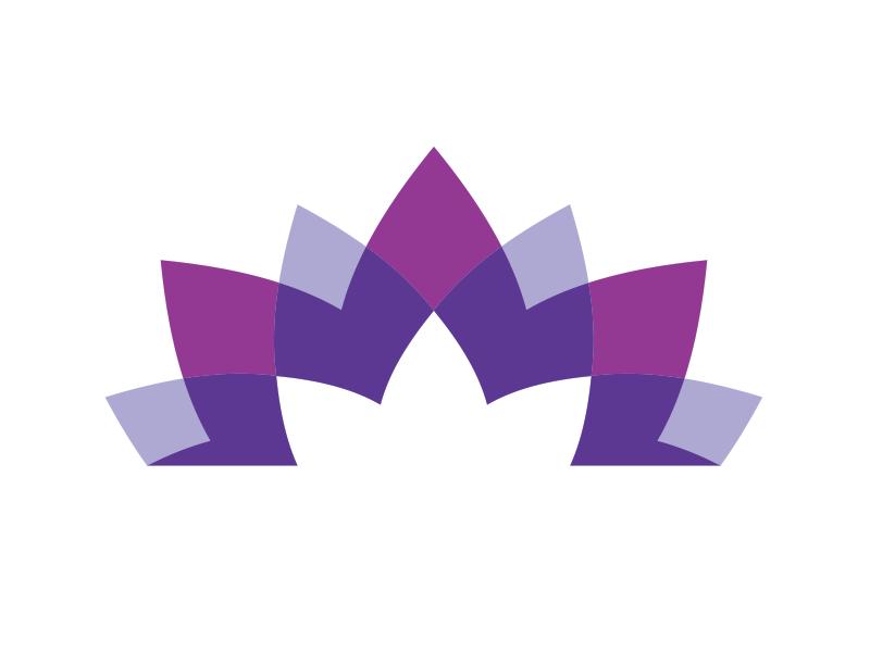 Another idea flower illustration logo