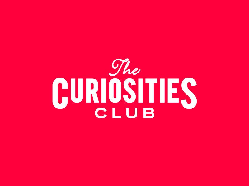 Curiosities Club logo type