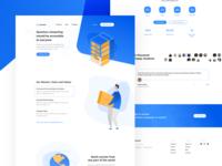 OpenQbit – Landing Page